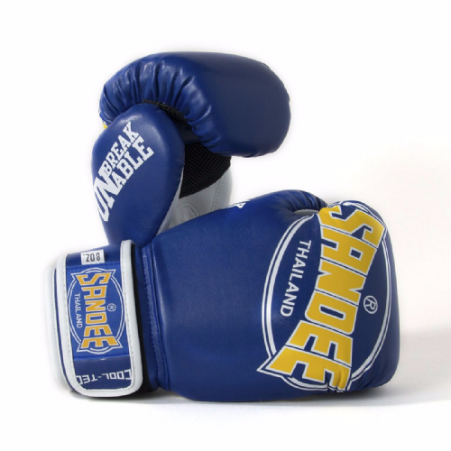 Sandee Kids Cool-tech Boxing Gloves Blue/Gold